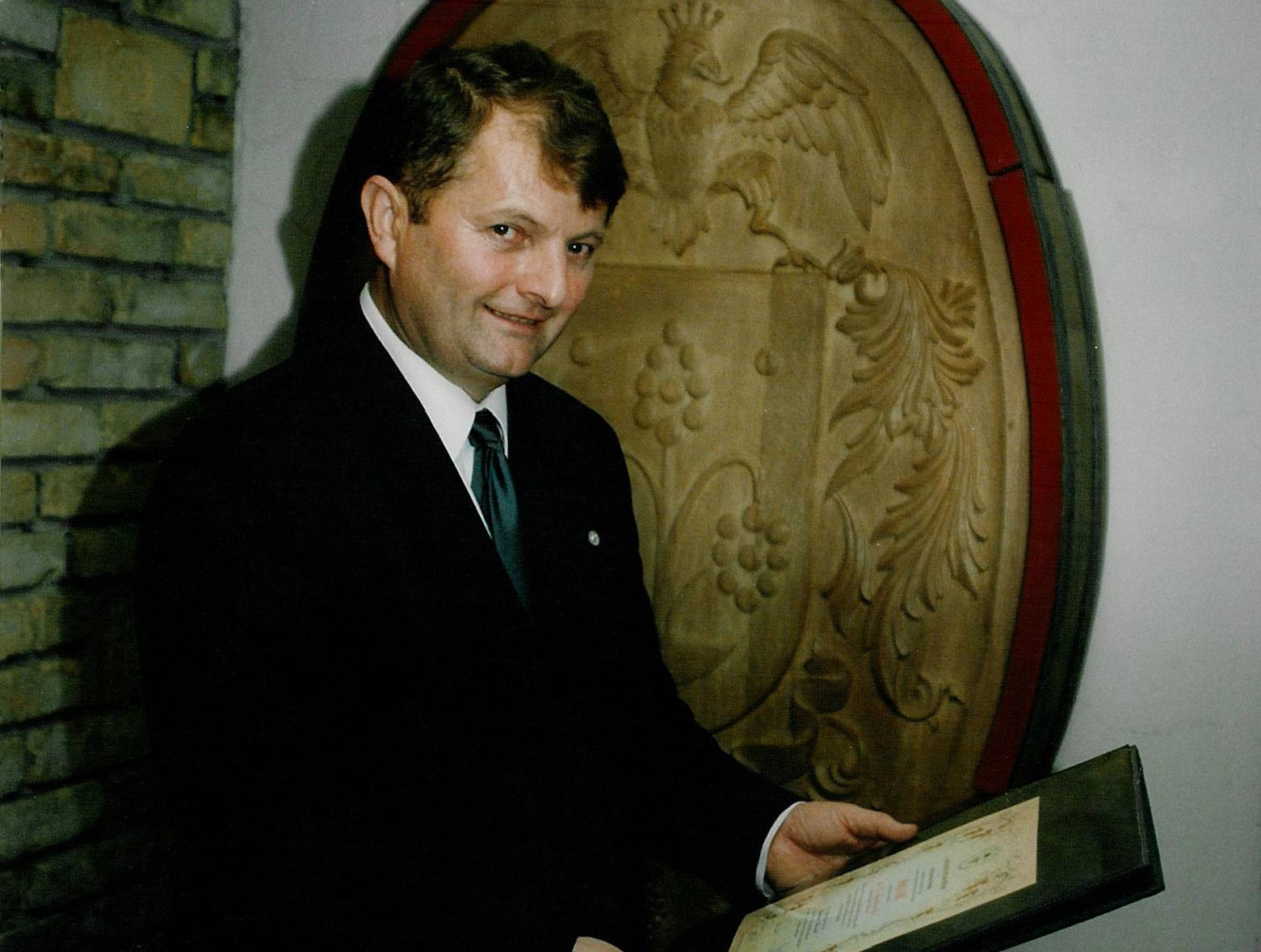 The Wine Producer of the Year in 1995 with award