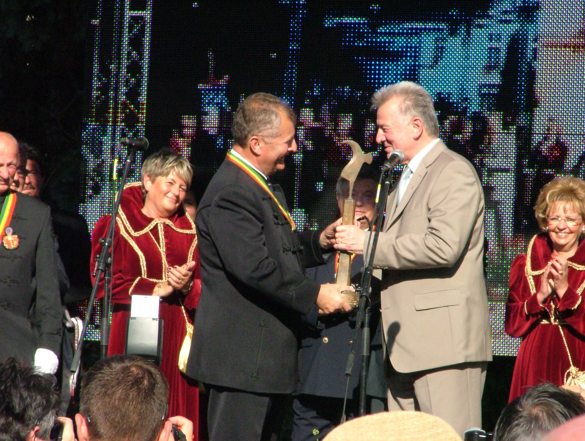 The Wine Grower of the Year in Eger