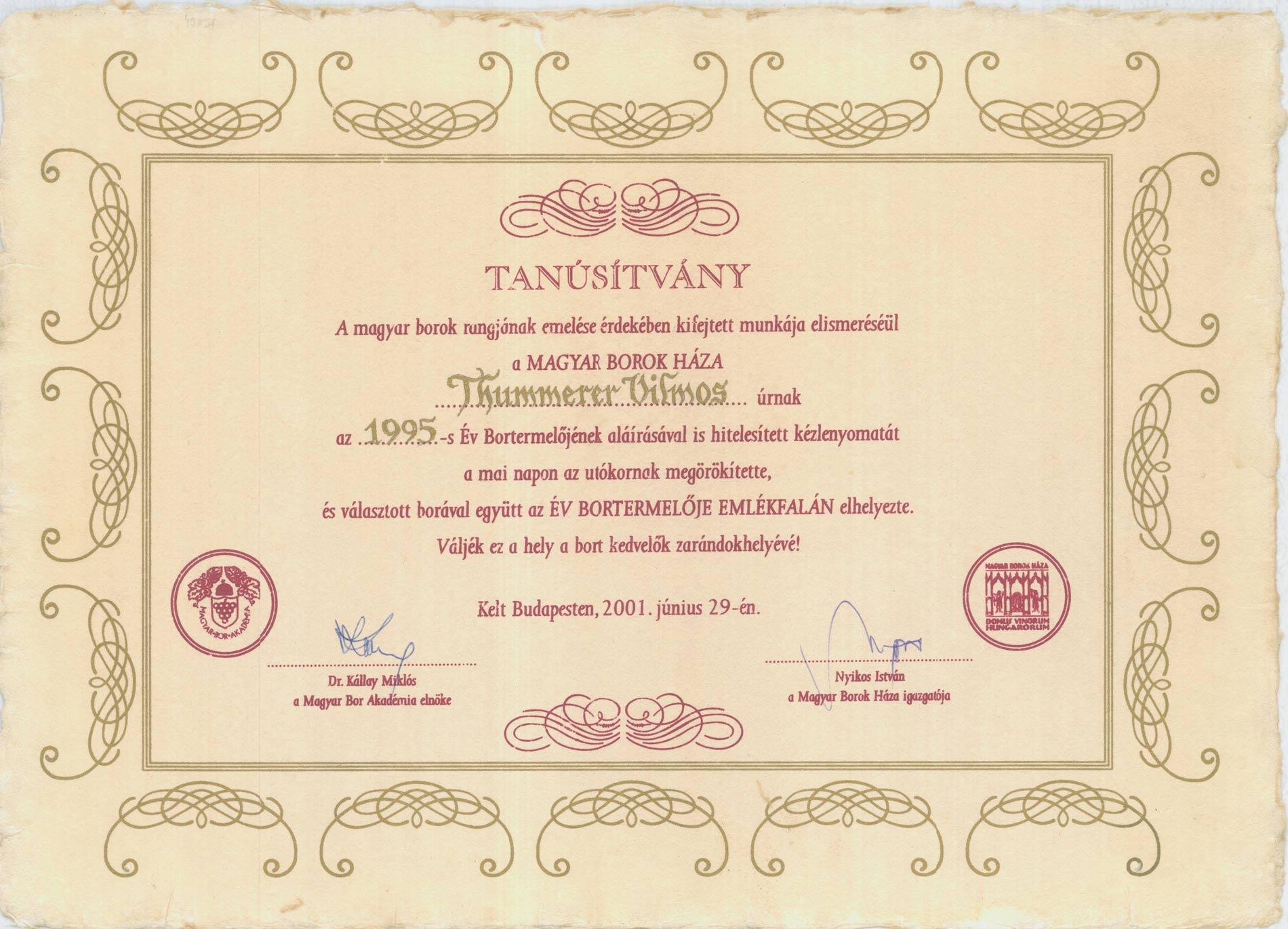 Memorian Wall Handprint Certificate