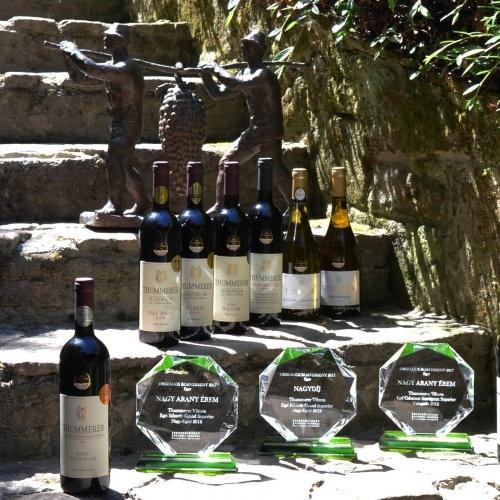 Országos borverseny díjak