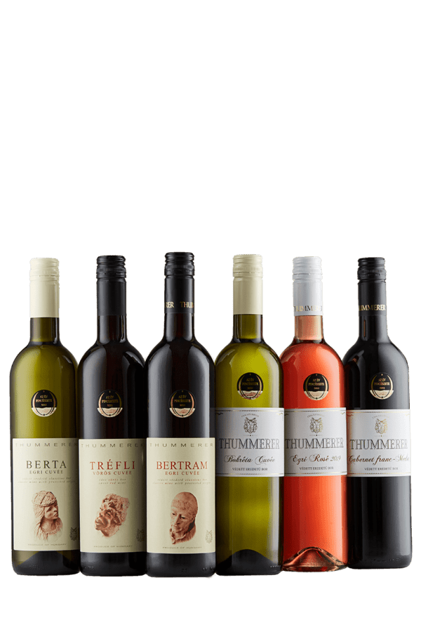 Classic 6 piece Winecollection