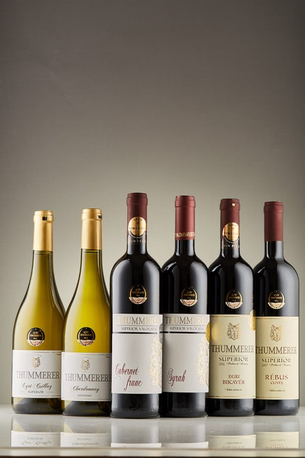 Superior 6 piece Winecollection